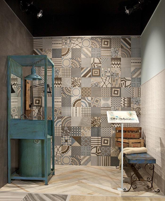 Imagen de la colección MELANGE del catálogo de azulejos vintage FS by Peronda Cerámicas.