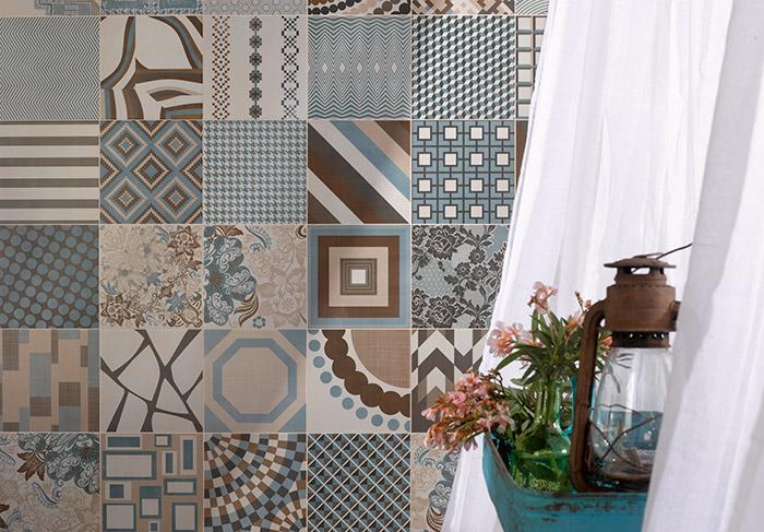 Imagen del pavimento FS Melange Tiles de la colección FS by Peronda Cerámicas.