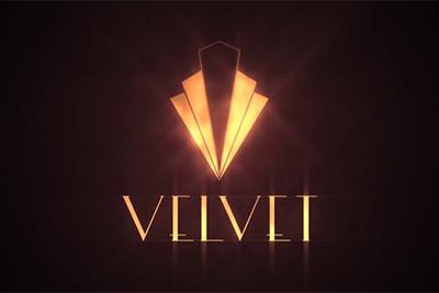 Imagen del logotipo de la serie de Antena 3. Galerías Velvet.