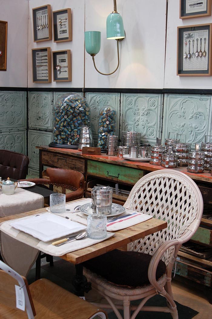 Imagen de la noticia sobre los muebles para interiorismo Francisco Segarra en Intergastra 2014.
