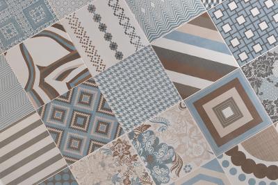 Imagen de la colección de azulejos y pavimento Melange Tiles