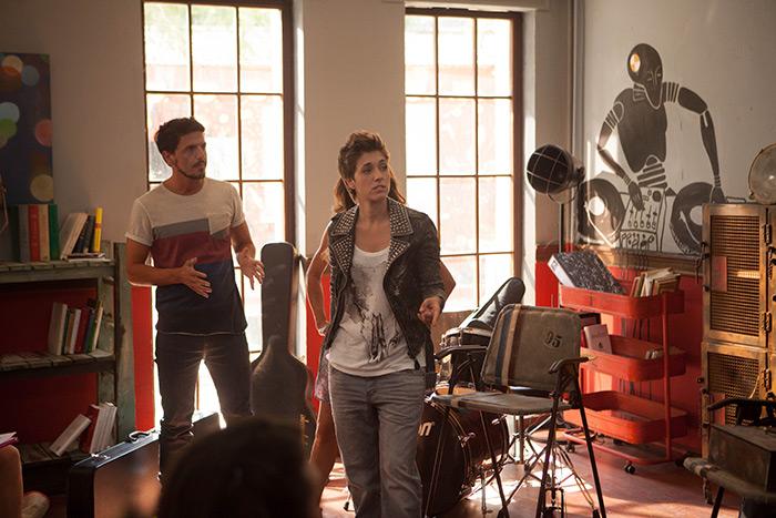 Fotos del rodaje de Dreamland, serie de musical de Cuatro.
