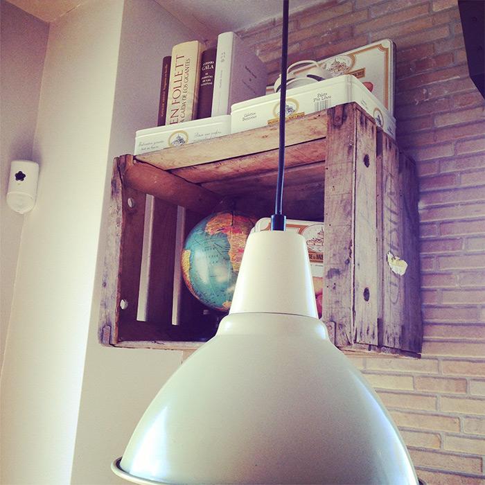 Fotos de la decoración de interiores en el asador Bienmesabe.