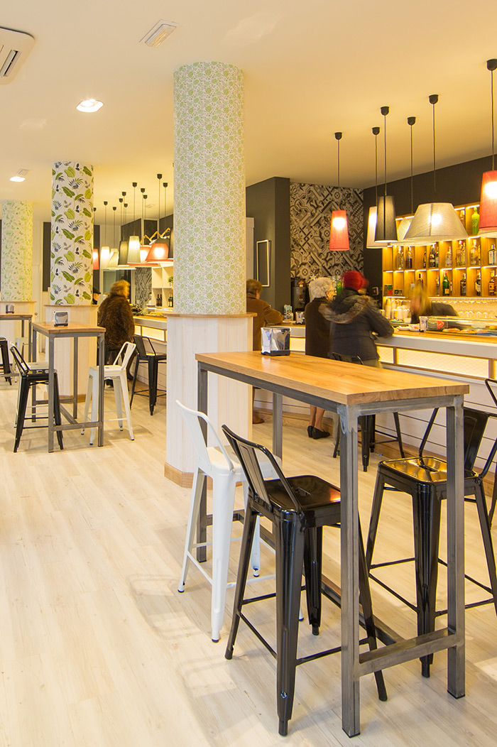 Proyectos de interiorismo profesional - Decoracion de bar ...