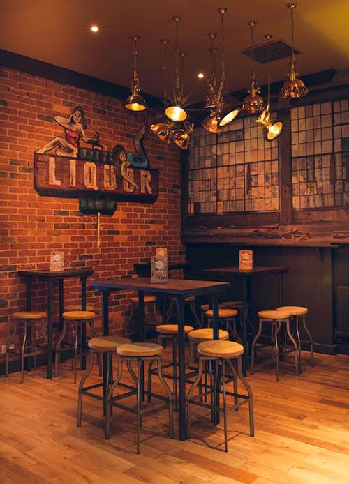 Noticias sobre la decoración de bares y restaurantes.