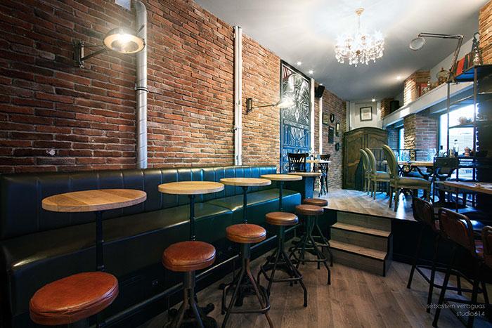 Imagenes de los muebles online para proyectos en hostelería.