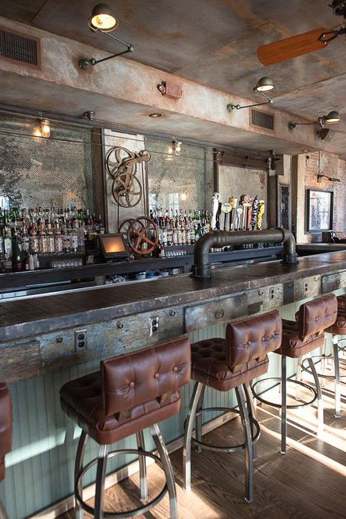 Noticias sobre interiorismo y decoración para bares.