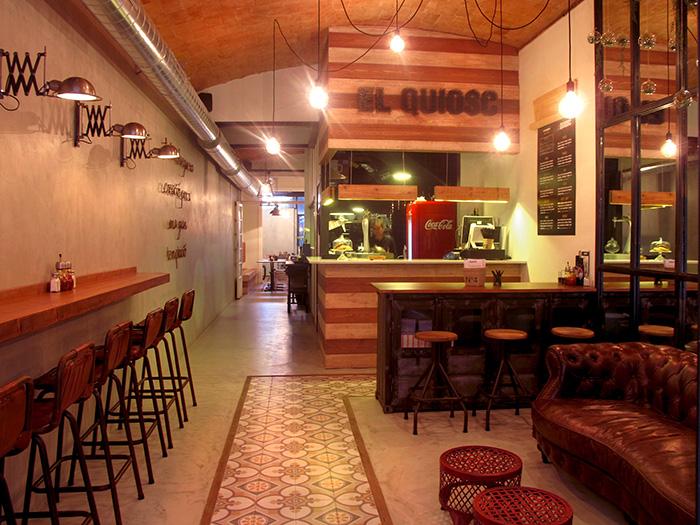 Proyectos de decoraci n retro industrial para restaurantes for Decoracion para hosteleria