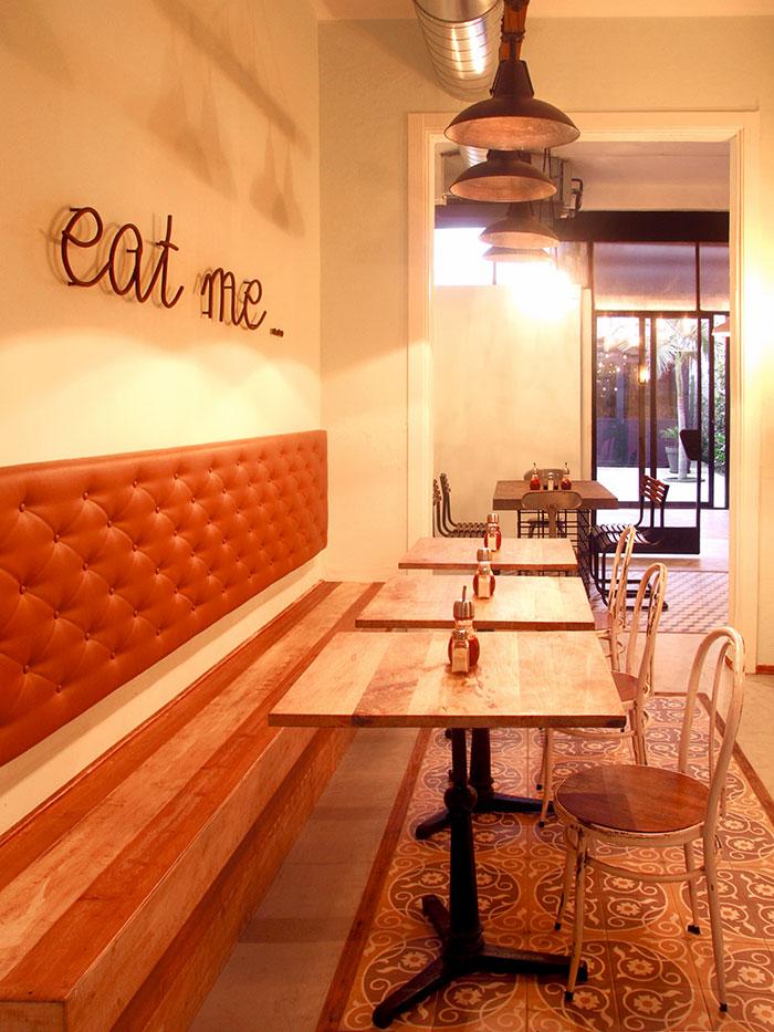 Proyectos de decoraci n retro industrial para restaurantes - Decoracion de interiores vintage ...