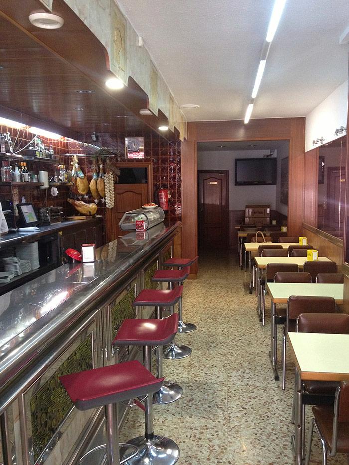 Foto del Proyecto de reforma del restaurante Las Vegas en Barcelona.