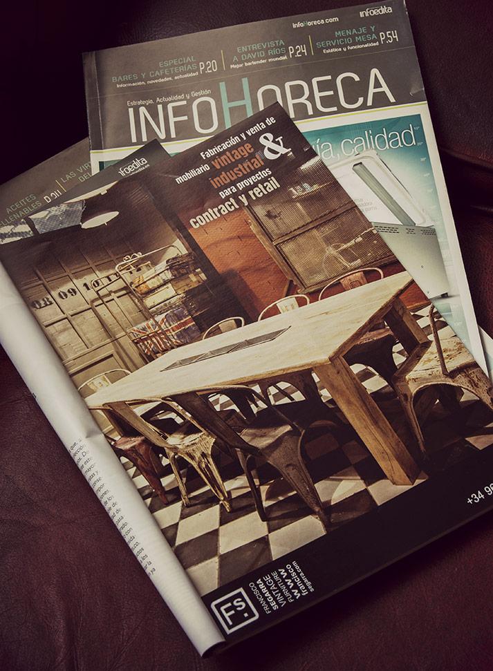 Imágenes. Mobiliario para el sector horeca en InfoHoreca.