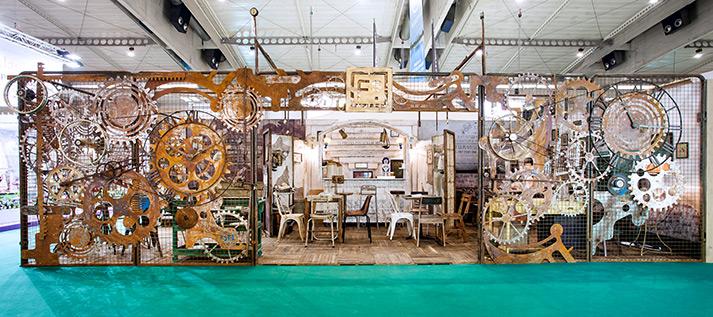 Fotos. Mobiliario y equipamiento para cafeterías.