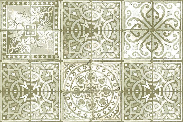 Fotos. Papeles pintados victorianos. Paper Tiles.
