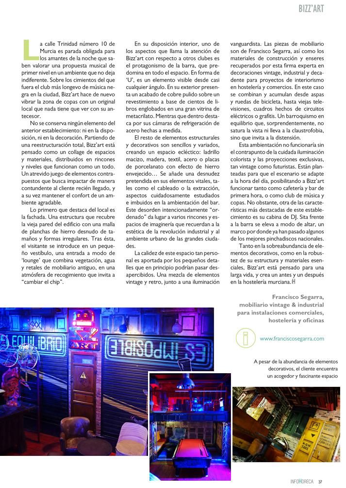 Imágenes de la publicación InfoHoreca.