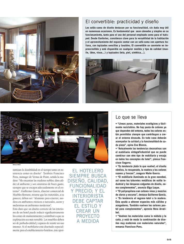 Imagen de la noticia sobre Equipamiento Hostelero. Interiorismo para hoteles.