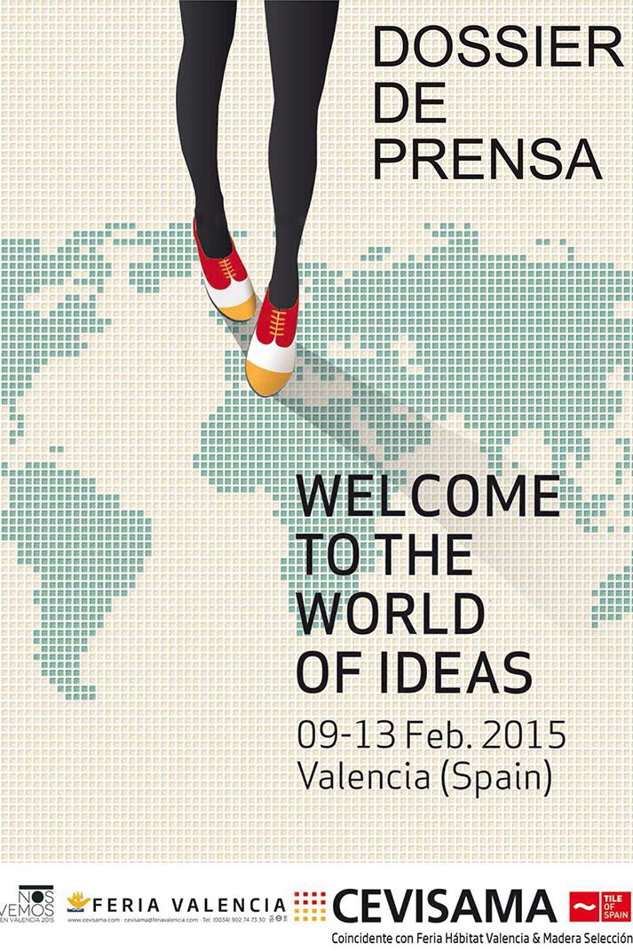 Imagen del cartel de Cevisama 2015.