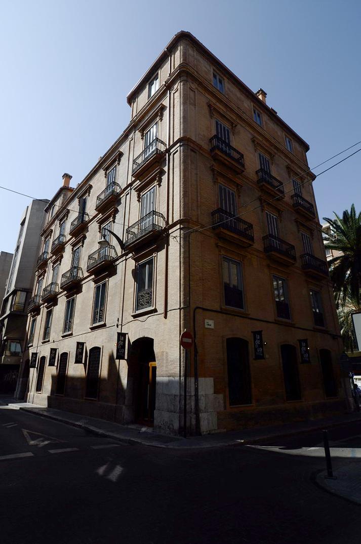 Imagen de la fachada en restaurante La Deriva.