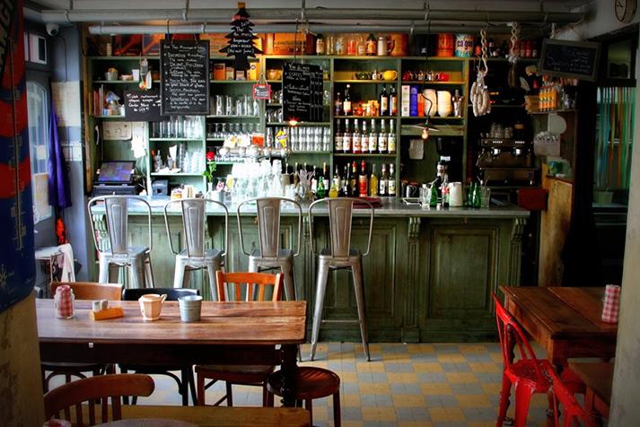Fotos. Proyectos de interiorismo de bares y restaurantes.