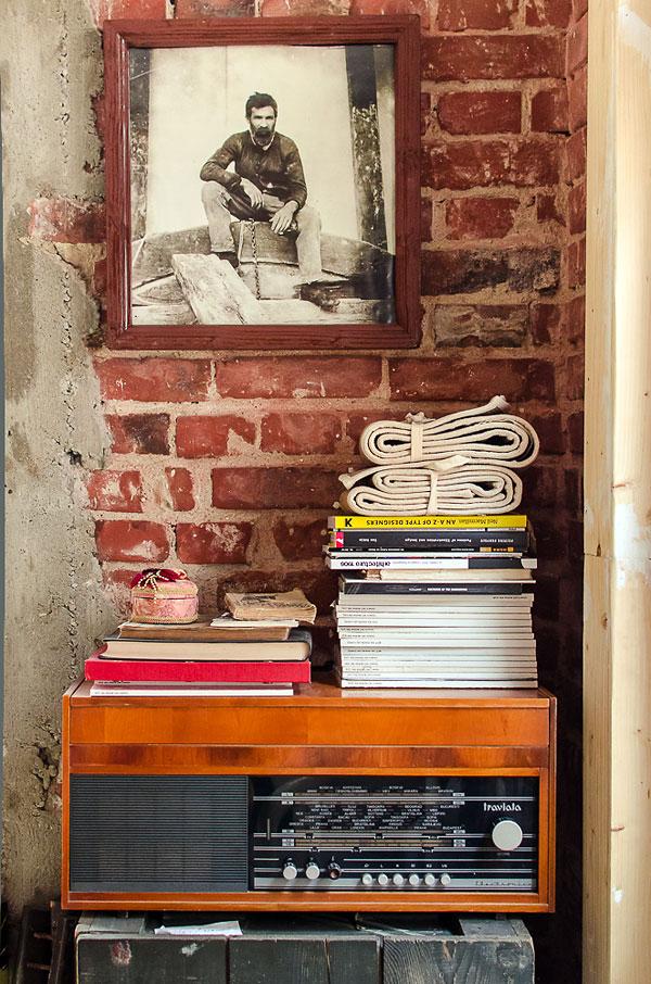 Fotos. Diseño interior de restaurantes vintage.