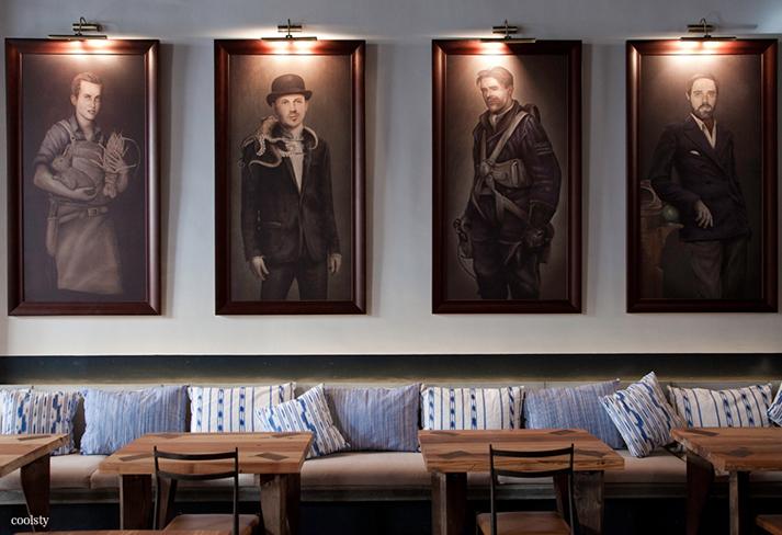 Dise o de interiores para hosteler a en bares y restaurantes for Disenos para bares