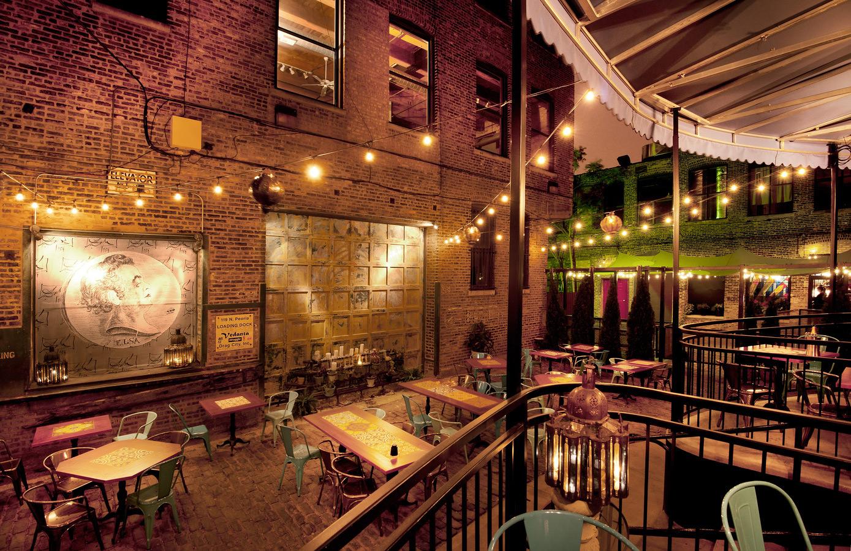 Muebles de terraza para decoraci n en hosteler a for Iluminacion terraza