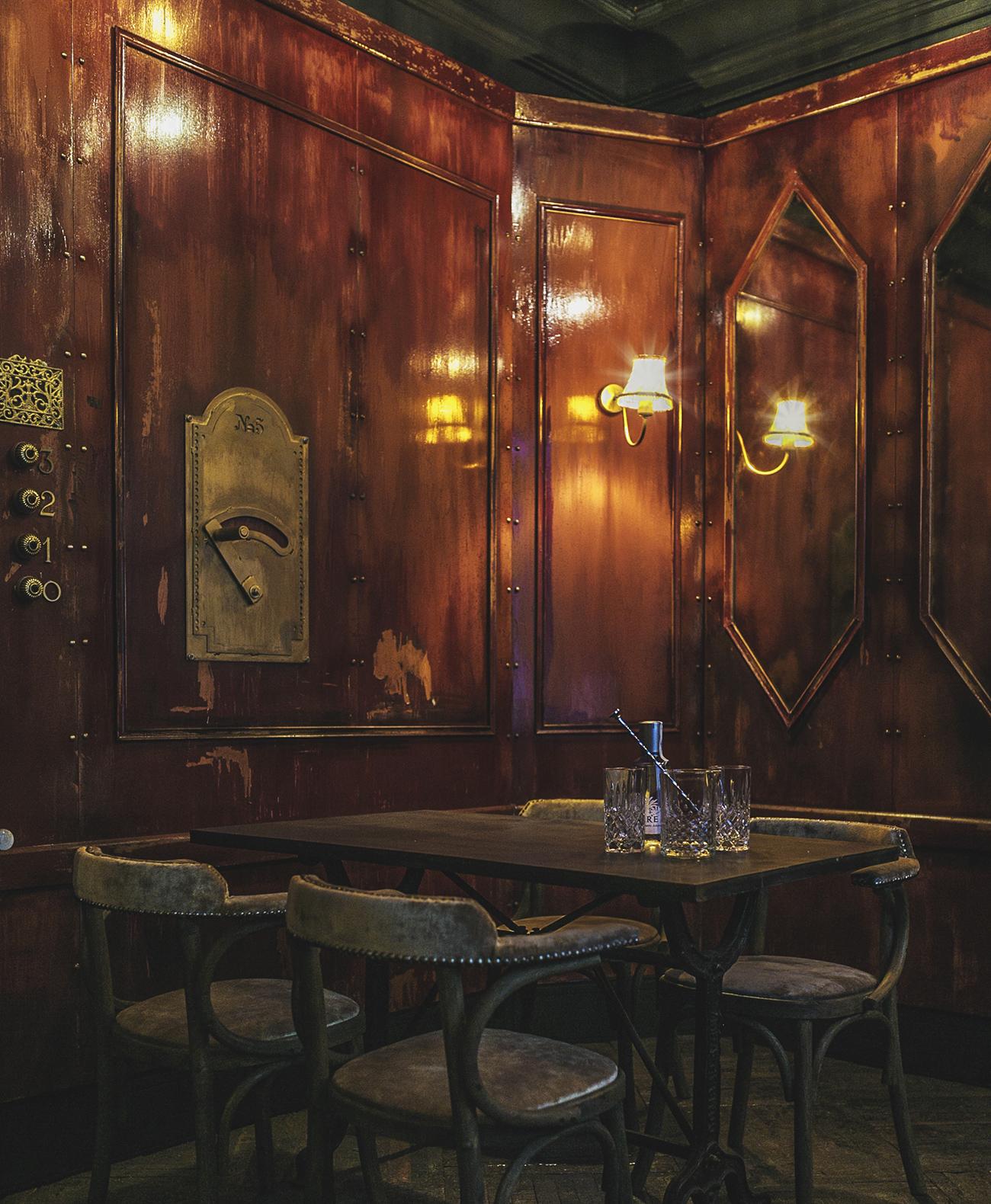 Proyectos de interiorismo n5 burger lujo y decadencia - Interiorismo madrid ...