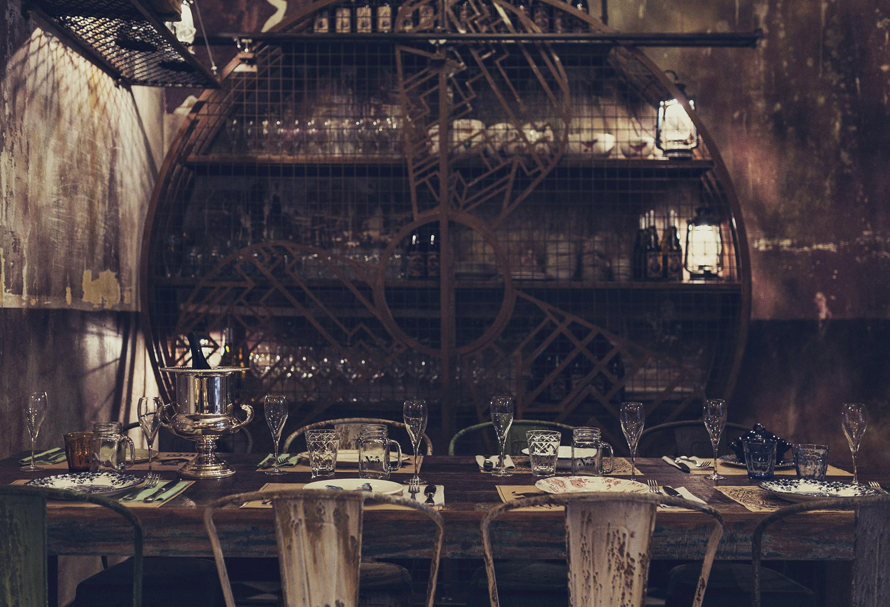 Imagenes de los Proyectos de interiorismo de estilo decadente.
