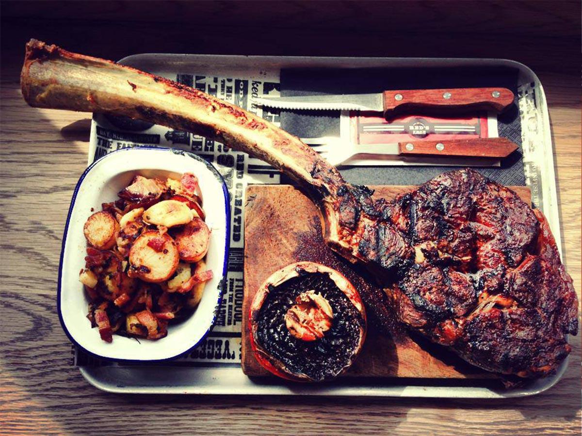 Fotos. Proyectos de interiorismo espectaculares Red's True Barbecue.