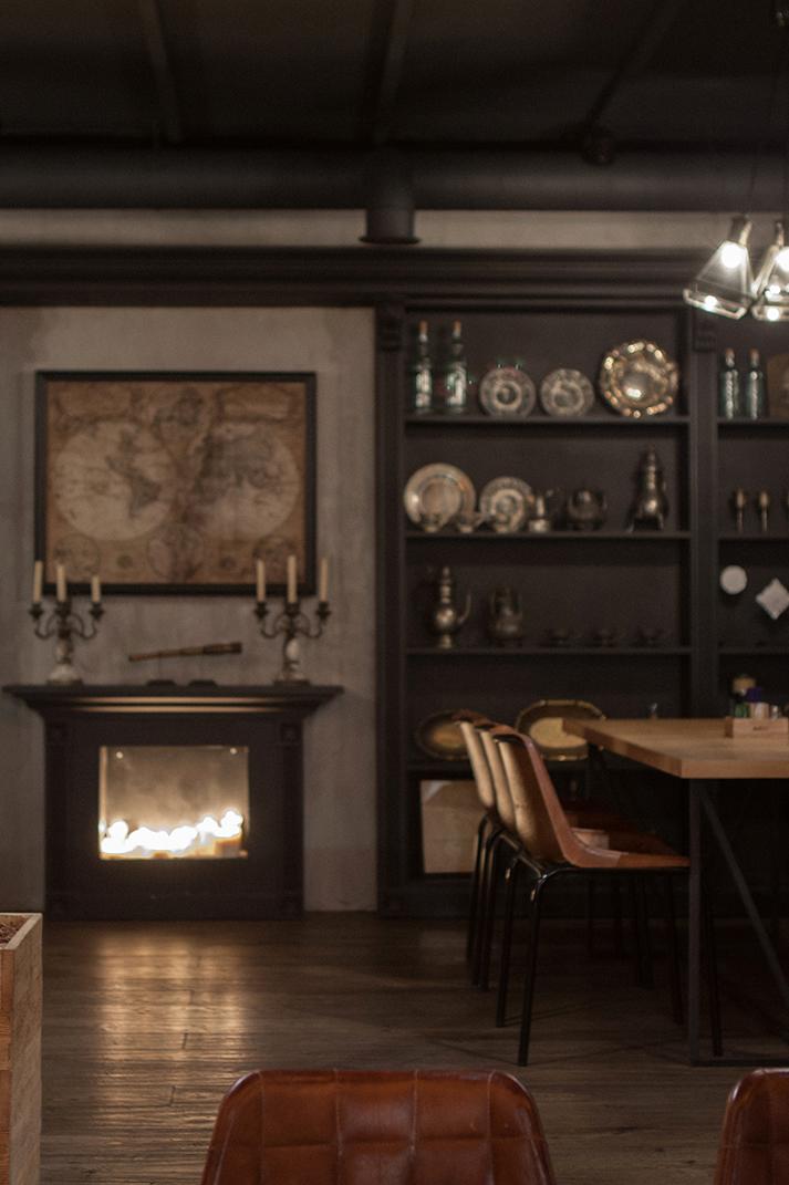Imágenes. Proyectos de interiorismo para hostelería. Restaurantes vintage.