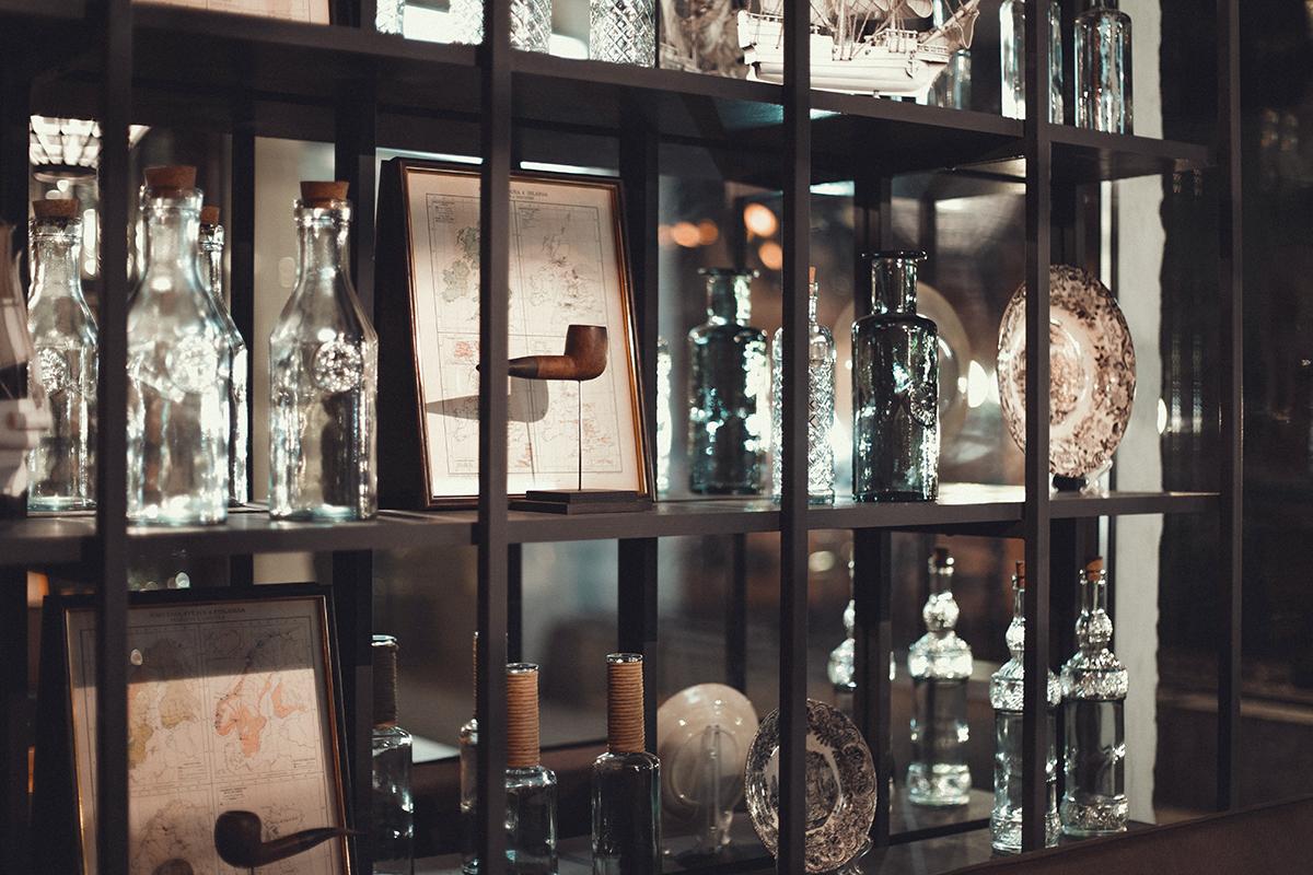 Imagen de la decoración en restaurante Barco.