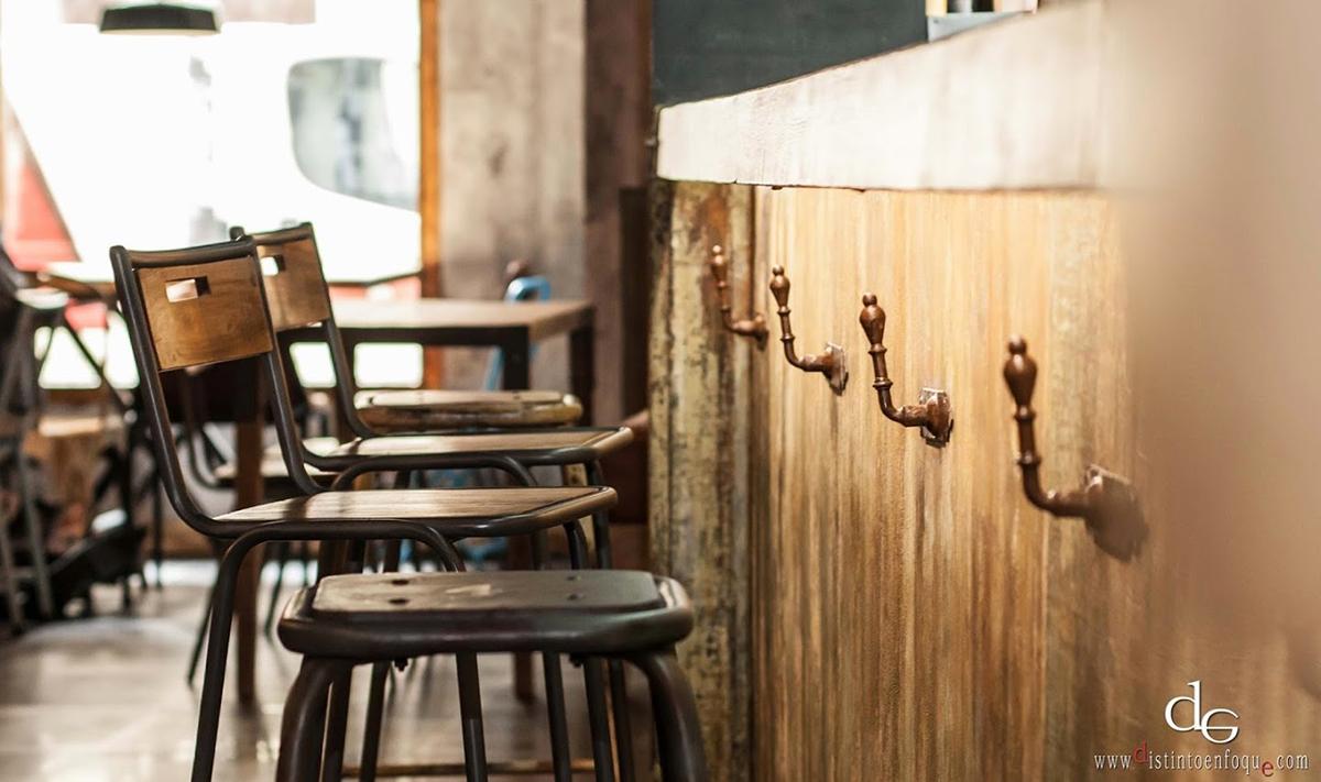 Reformas de bares la central madrid - Barra de bar salon ...
