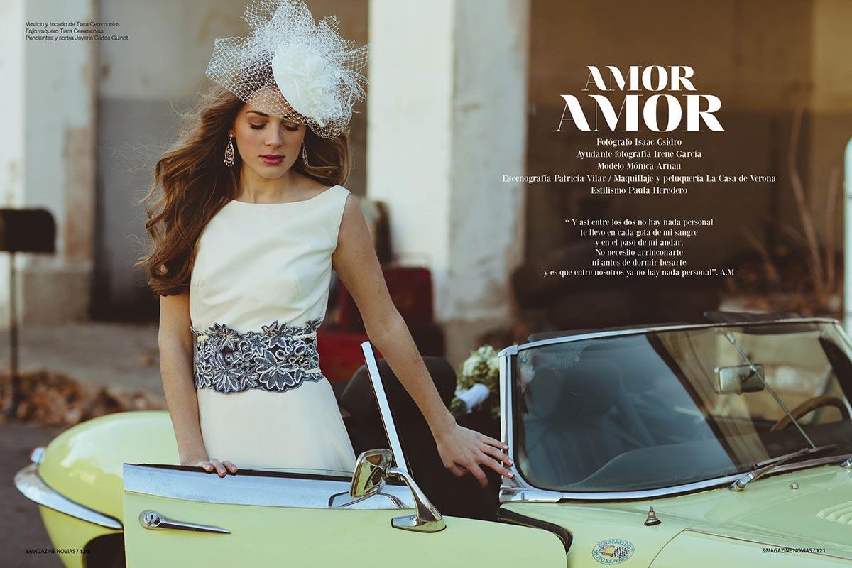 """""""Amor Amor"""" en & Magazine Novias."""