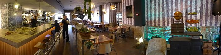 Proyectos. Interiorismo y decoración para restaurantes.