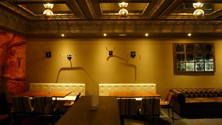 Interiorismo y decoración de espacios gastronómicos.