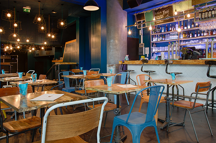Mobiliario hosteler a para restaurantes vintage industrial for Mobiliario de un restaurante bar