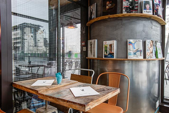 Mobiliario hosteler a para restaurantes vintage industrial - Mobiliario de un bar ...