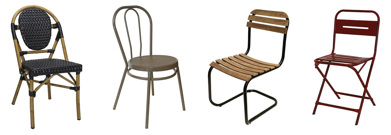 Noticias. Muebles de exterior. Sillas Francisco Segarra.