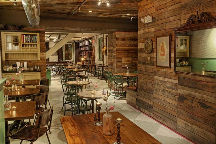 Imagenes. Proyectos de interiorismo para cafeterías.