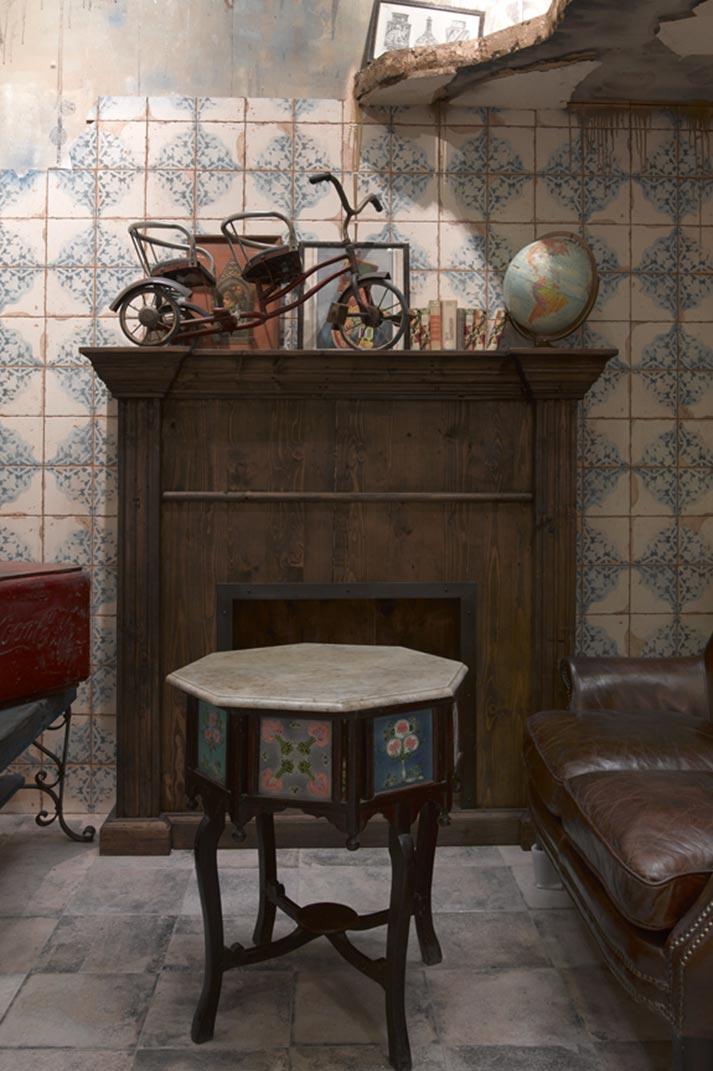 Noticias tendencias mobiliario vintage - Suelos de gres porcelanico ...