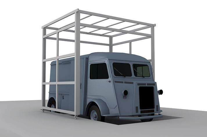 diseño de espacios pop ups