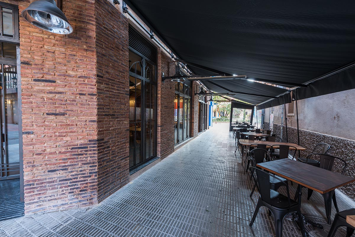 Malabar. Proyecto interiorismo para hostelería Francisco Segarra.