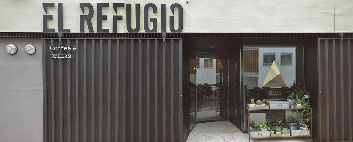 La nueva fachada de restaurante El Refugio.
