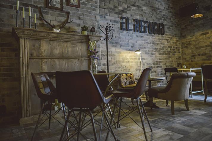 El nuevo espacio de restaurante El Refugio.