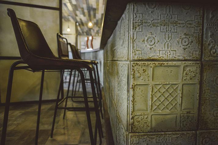 La nueva barra de bar de restaurante El Refugio.
