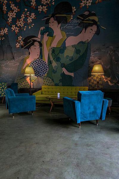 Espectaculares diseños de bares y restauranrantes.