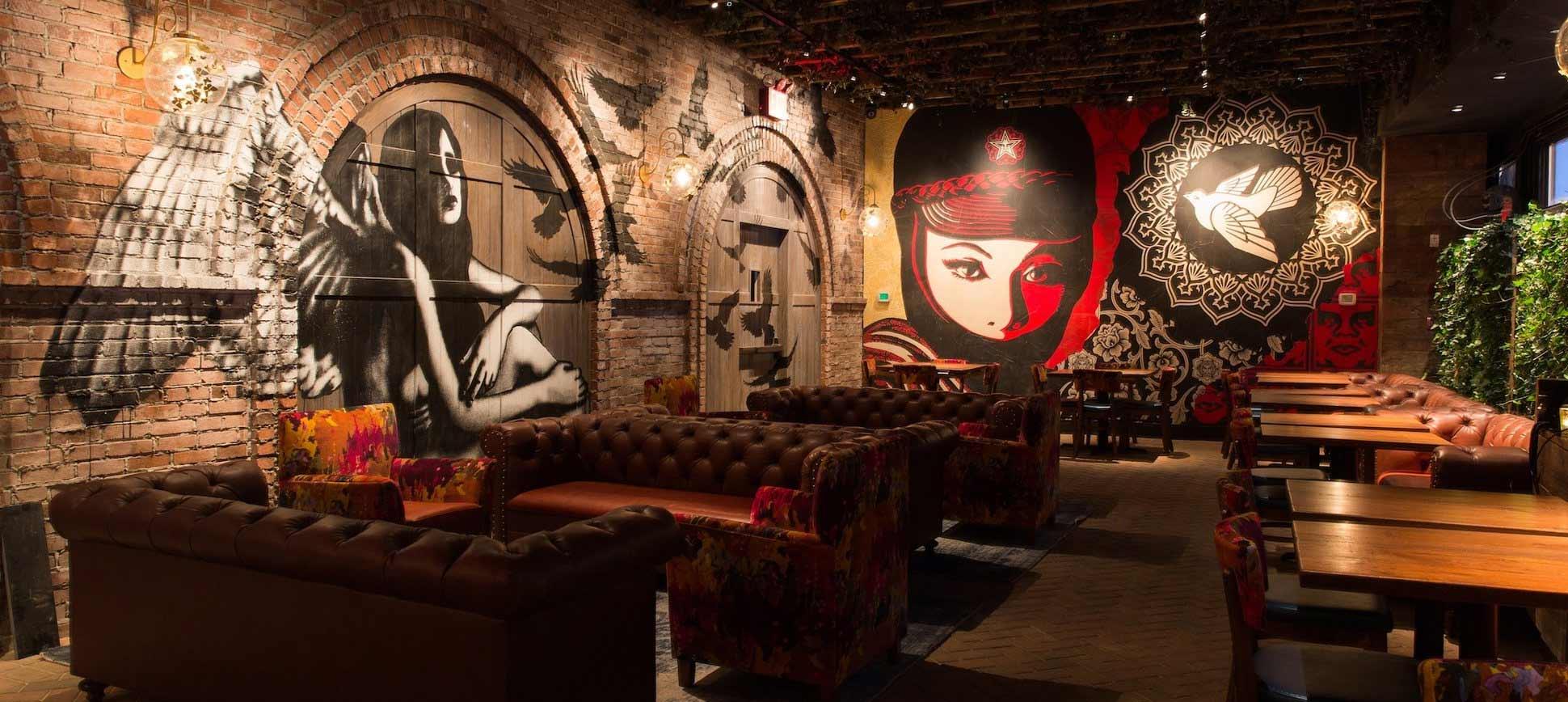 Tendencias en el dise o de bares caf s y restaurantes - Decoracion de bar ...