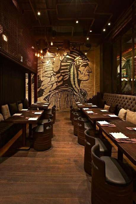 Espectaculares diseños de bares y restaurantes.