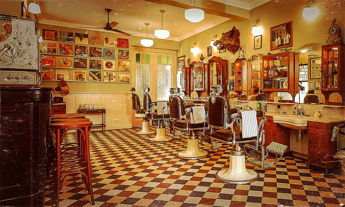 Tendencias interiorismo revival decorativo del barber shop for Interieur stylist amsterdam