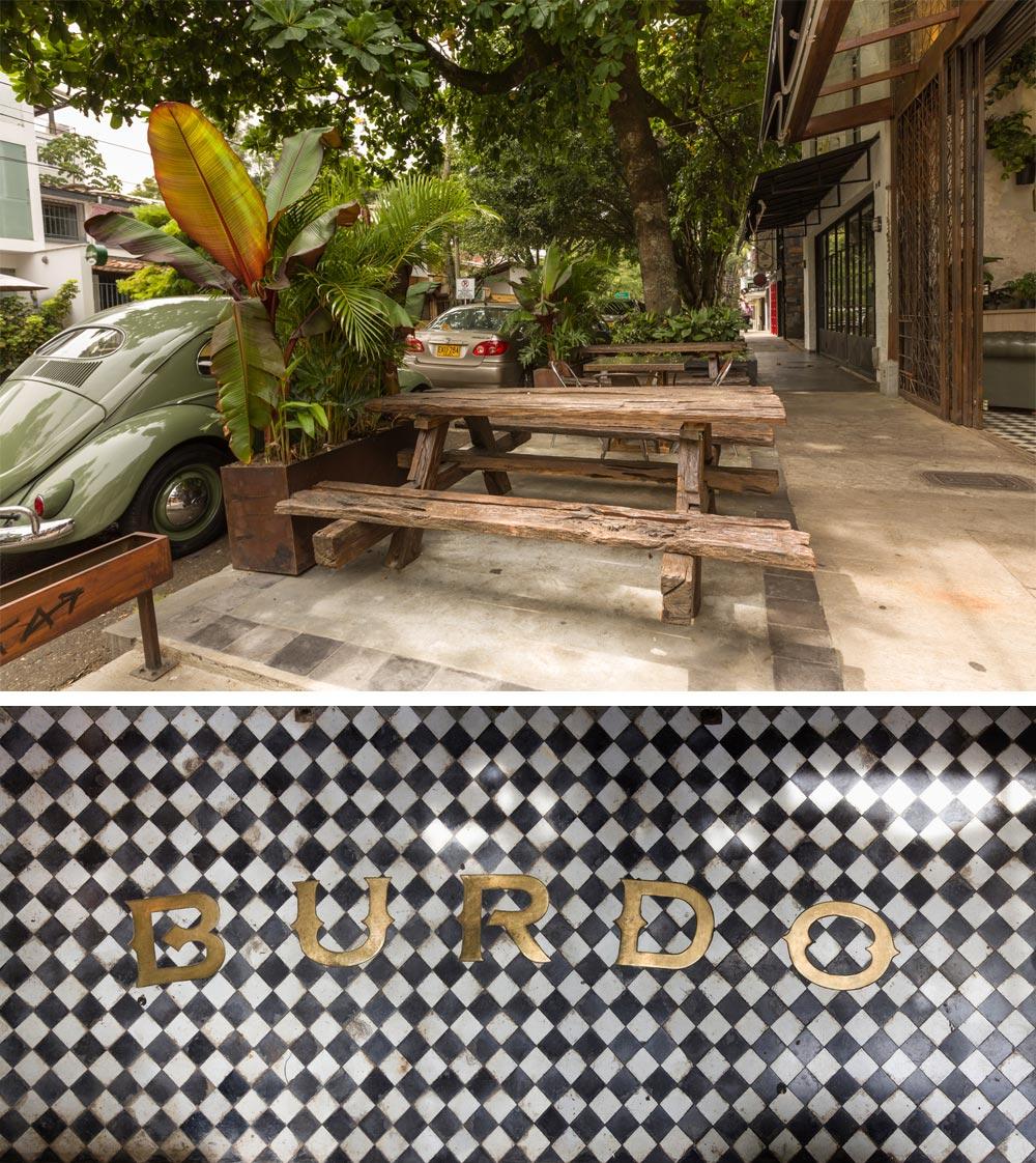 Proyecto comercial restaurante BURDO.