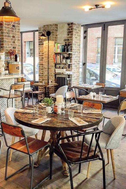 Un proyecto, un diseño, una decoración. Un restaurante para sentirse como en casa.